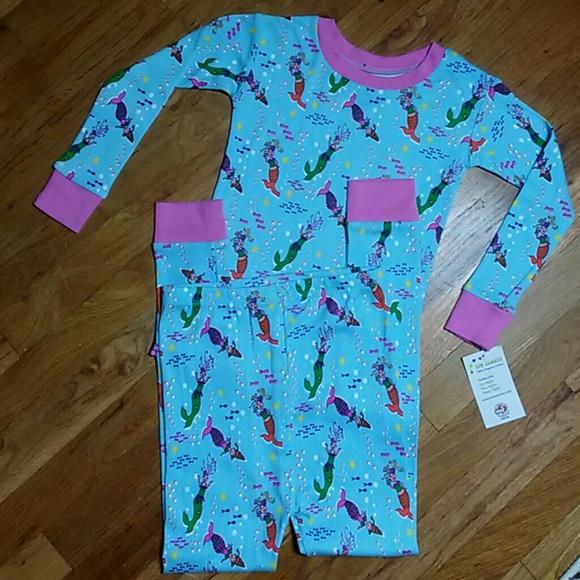 a599b16ad3 Mermaid Bubbles Organic Cotton Pajamas-SZ 7
